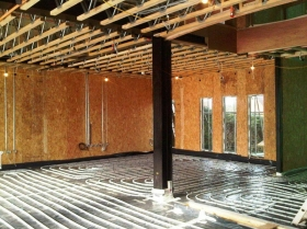 Creative Space for self build homes - structural insulated panels 036