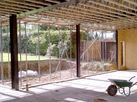 Creative Space for self build homes - structural insulated panels 00564 00559