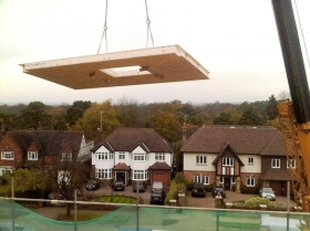 Creative Space for self build homes - structural insulated panels Sips panels uk 1052
