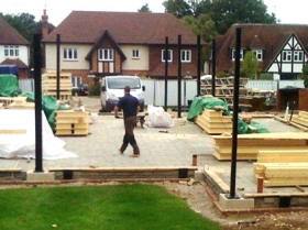 Creative Space for self build homes - structural steelwork