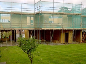 Creative Space for self build homes - structural insulated panels 00564