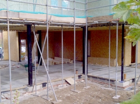 Creative Space for self build homes - structural insulated panels 0056400568