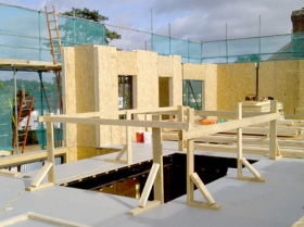 Creative Space for self build homes - structural insulated panels 00564 00572