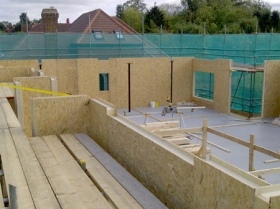 Creative Space for self build homes - structural insulated panels 0056400573