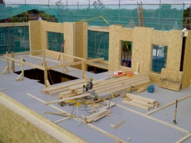 Creative Space for self build homes - structural insulated panels 00564 00577