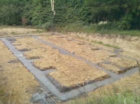 self build concrete foundations