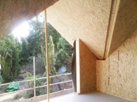 interior building sips shell