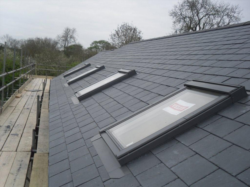 sky light roof tiles