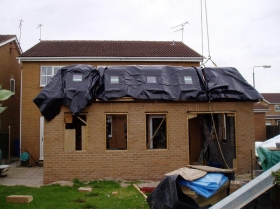 Reford - home extension external cladding