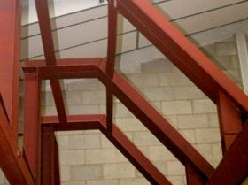 Reford - trial erection structural steelwork 00220