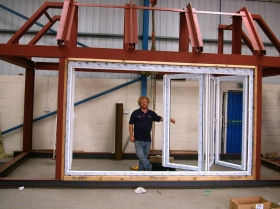 Reford - trial erection structural steelwork 00011
