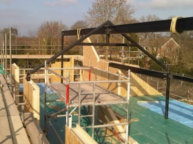 Creative Space - structural steelwork erectors self build