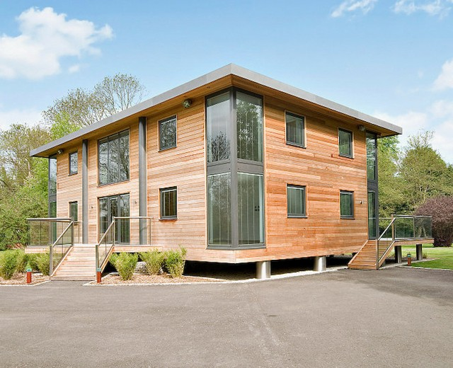self sustainable building design homes projects uk eco joists
