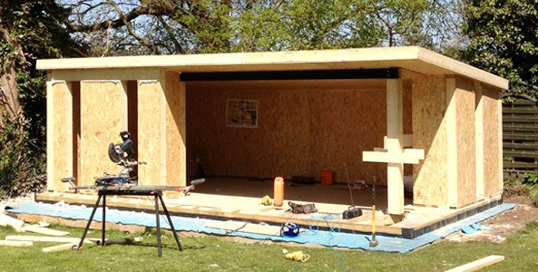 Sips home extensions for self builders eco house for Sip kit home