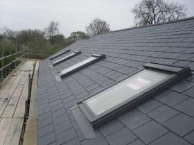 sky light roof tiles