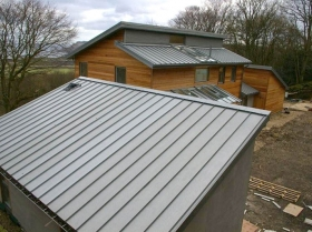 building project roofing system