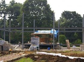 Creative Space - structural steelwork erectors