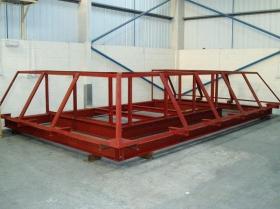 Creative Space - Steel erection trial run