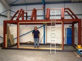 Creative Space - Steel erection trial run sg1l0304