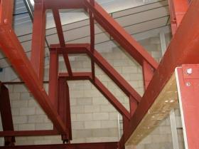 Creative Space - Steel erection trial run sg1l0313